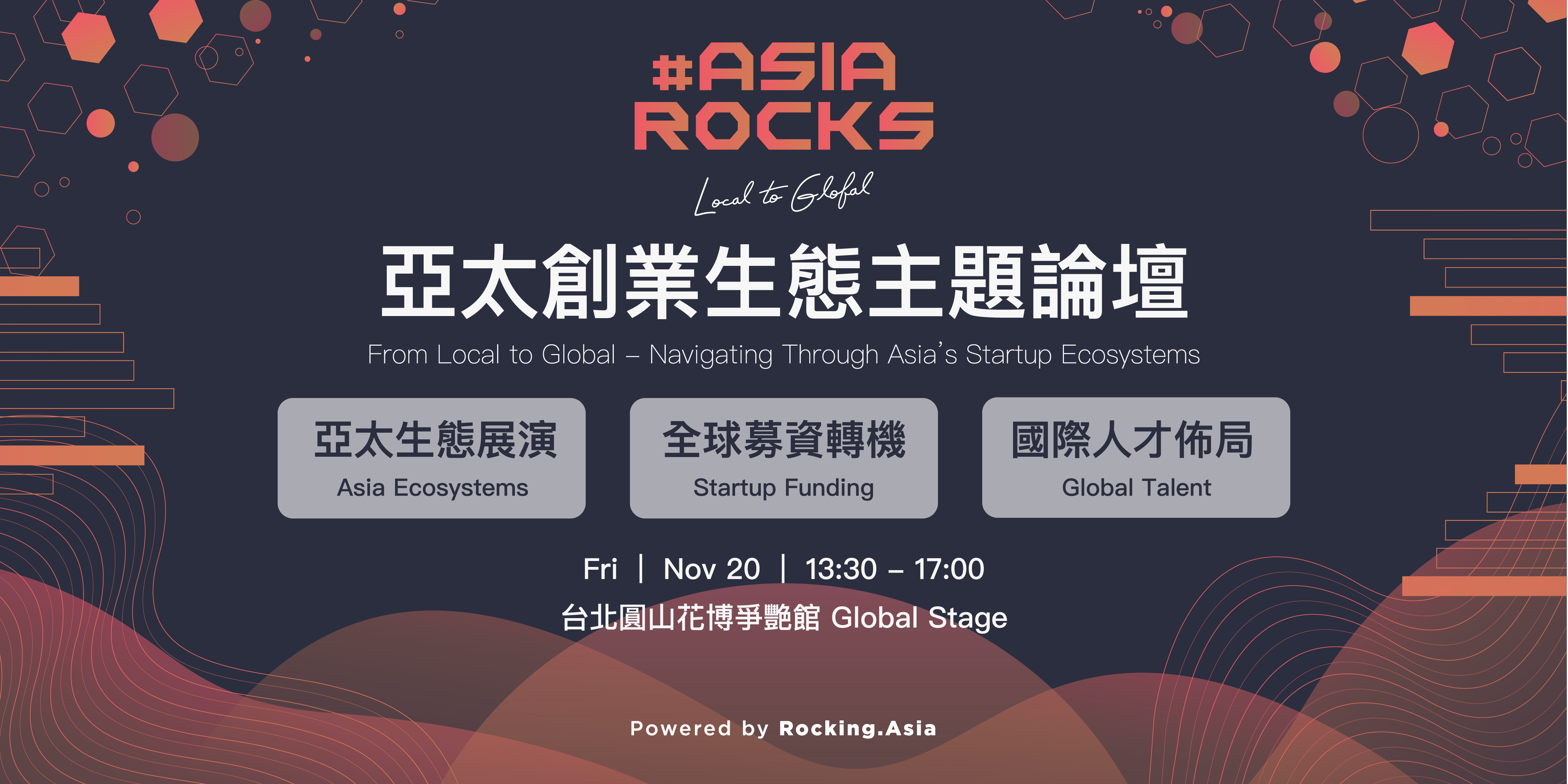 #AsiaRocks - From Local to Global